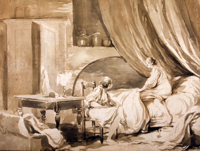 Le coucher de Fragonard, Salon Fragonard