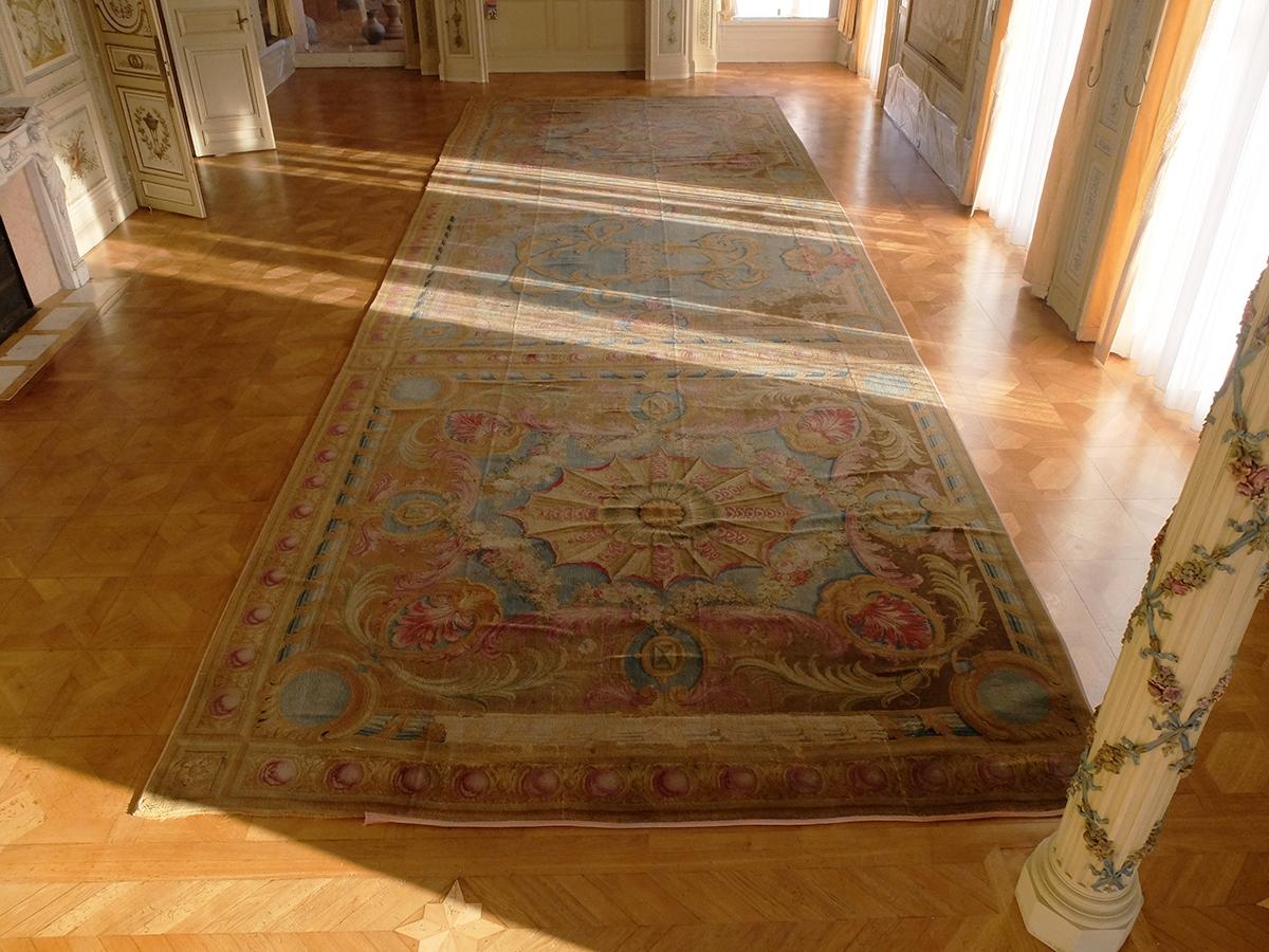 Tapis de la savonnerie villa et jardins ephrussi de for Savonnerie salon